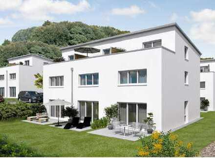 Modernes Haus mit fünf Zimmern und Garten in Karlsruhe (Kreis), Weingarten (Baden)