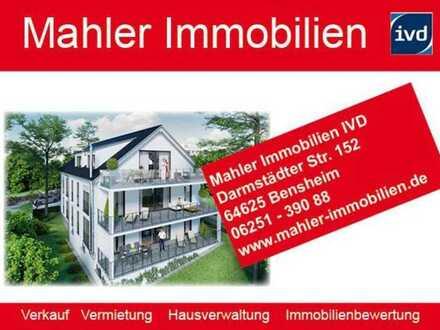 Neubau Komfort - Dachgeschoss Eigentumswohnung in gehobenem Wohngebiet von Bensheim-Auerbach
