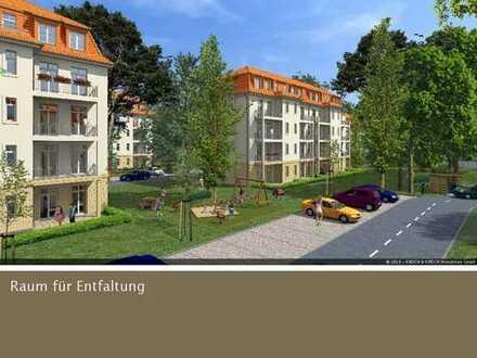 Große Wohnung mit vier Zimmern und 2 Balkonen