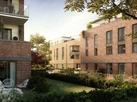 Zentral gelegen - Wohnung mit 2 Zimmern und Gartenanteil **Erstbezug**