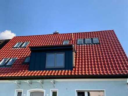 Erstbezug mit Balkon: schöne 4-Zimmer-Maisonette-Wohnung in Haibach