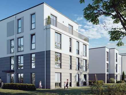 Neubau: 3 Zimmerwohnung mit schönem Garten