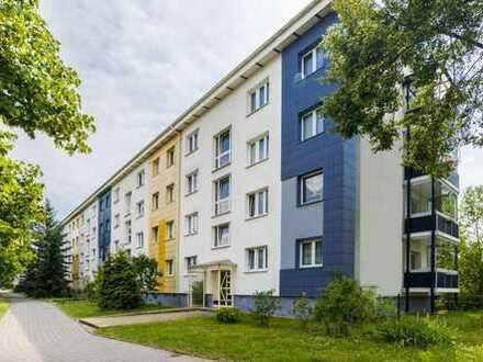 3-Raumwohnung mit Balkon in der Neustadt