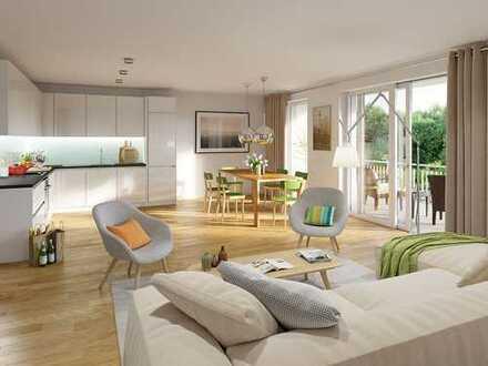 Großzügig und offen geschnittene 3-Zi.-Wohnung mit Balkon und durchdachten Ausstattungsdetails