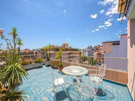 Penthouse mit drei Terrassen in Palma