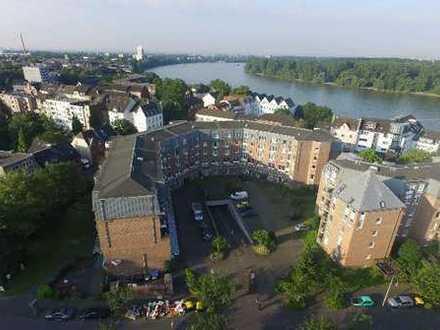 Gemütliche Zweizimmerwohnung in Rheinnähe, provisionsfrei