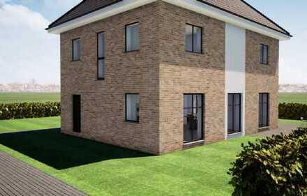 Mitten im Zentrum Grundstück + Haus mit genehmigter Stadthaus-Villa mit Ausbaureserve ***KfW 55***