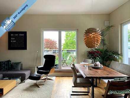 Über den Dächern Marienthals - Exklusive Maisonette-Wohnung mit Dachterrasse und Lift
