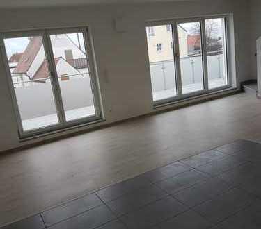 Neubau: Helle, geräumige 4-Zimmer-Maisonette-Wohnung mit großem Süd-Balkon