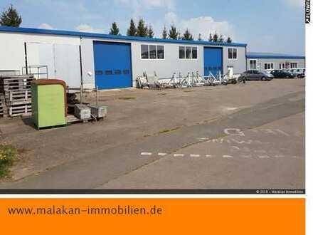 Halle für Produktion, Werkstatt, Lager mit Büro und Betriebswohnung in Bitburg