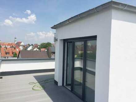 Erstbezug! 3 ZKB Dachterrassenwohnung - Stadtvilla Lauingen