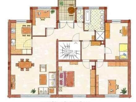Große Wohnung mit 5 Zimmern in Mannheim Gartenmitnutzung