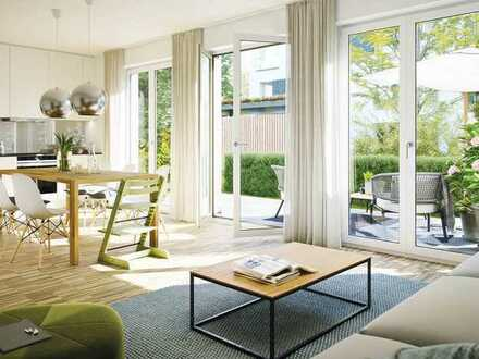 Helle Maisonette - Wohnung mit Balkon im Neubauquartier