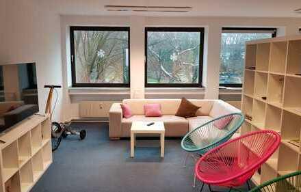 Helle Büro-/Praxis-Etage 153m² auf Märkische Str. in Dortmund - ab 1.5.18 - direkt vom Eigentümer