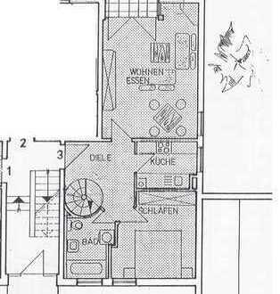 Helle zentrale Wohnung in Brannenburg