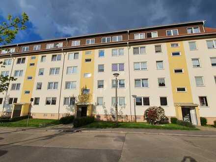 Gepflegte Wohnung mit drei Zimmern und Balkon in Chemnitz Reichenbrand