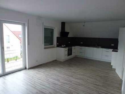Erstbezug: schöne 5-Zimmer-Dachgeschosswohnung in Bissingen