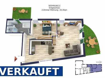 Neubau | 2- Zimmer Eigentumswohnung mit Terrasse und Garten