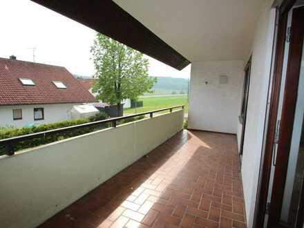 Schöne helle 1 1/2- Zimmer-Wohnung im Erdgeschoss!