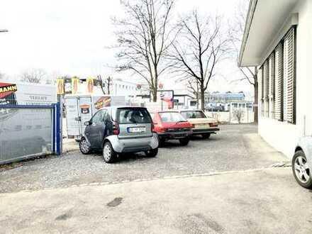 Freifläche/Stepllätze geschottert mit Büro CA 8m2 in Freiberg am N. zu vermieten