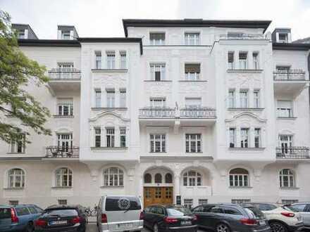 Profisionsfrei - Schwabing Bestlage - Büro in Jugendstilhaus