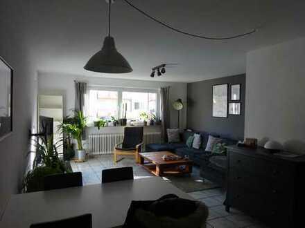 Gepflegte, sanierte 3-Zimmer-Hochparterre-Wohnung mit Balkon in Merzhausen