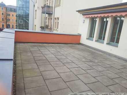 Zentral Wohnen in Radebeul-Ost - individuell geschnitten mit Terrasse