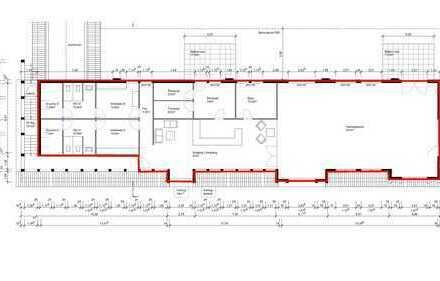 320 qm Bürofläche /Fläche für ein Fitnessstudio provisionsfrei in der City von Soltau