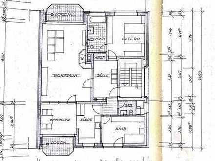 Erstbezug nach Sanierung: attraktive 3,5-Zimmer-Wohnung mit 2 Balkonen im Dorf Holsterhausen