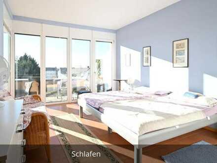 Barrierefreie Penthouse Wohnung mit toller Dachterrasse, neue Küche, komplett renoviert