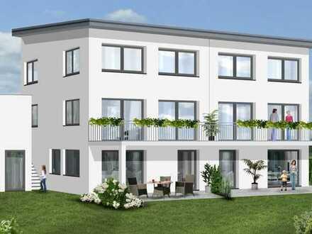 KfW55-Effizienzhaus: Große Doppelhaushälfte mit gehobener Ausstattung