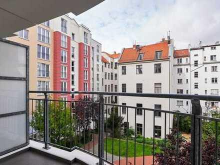 IMMOBERLIN: Toplage! Wohnung mit ruhigem Südwestbalkon