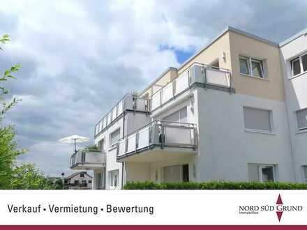 Top-Lage von Bühl: Schöne Dach-Terrassenwohnung. 2,5-ZKB ca. 80 m² Wohnfläche, Stellplatz.