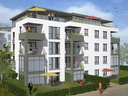 B5 - 4,5 Zi.-Wohnung mit Terrasse, Garten und Blick ins Grüne!