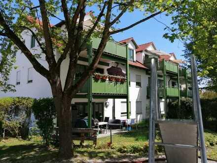 Komfortable, gepflegte 3-Zimmer-Wohnung mit Balkon in Stettenhofen, Langweid am Lech