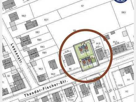 Untermenzing - Top-Grundstück mit Baugenehmigung für 4 DHH