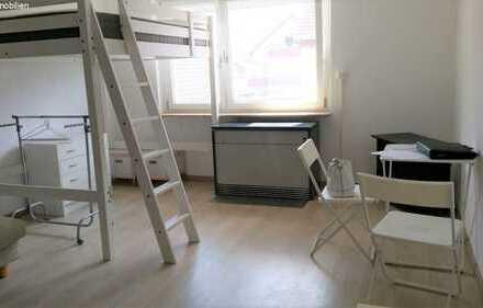 Gemütliche 1-Zimmer-Wohnung, teilmöbiliert, in gemütlicher Lage MIT KÜCHE