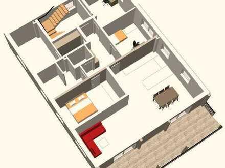 Attraktive 5-Raum-Wohnung mit EBK und Balkon in Illerbeuren