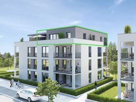 Achern: Erstbezug einer 4 Zimmer Penthousewohnung mit Einbauküche