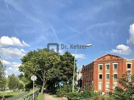 |D|K|I| OF-MAINLAGE: 228qm Büroetage in historischem Fabrikgebäude /// provisionsfrei