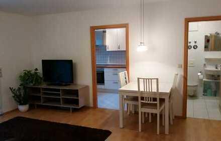 Gepflegte 2-Zimmer-EG-Wohnung mit Terrasse und Einbauküche in Aalen
