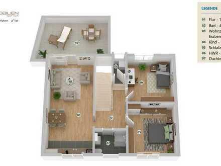 Obj.-Nr. 385 A Kernsanierte OG Wohnung nahe Mercedes