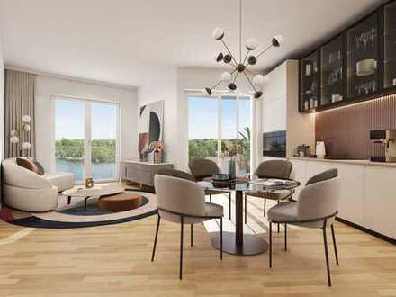 Purer Wohngenuss direkt an der idyllischen Spandauer Havel - Barrierefreie 3-Zi.-Wohnung mit Balkon