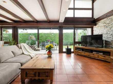 sonnig, grün, ruhig und zentral eine Immobilie der besonderen Art