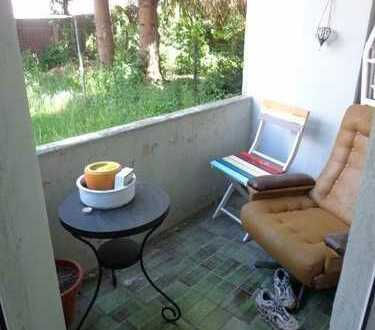 Ideal für Studenten - Kleine 2 Zimmerwohnung im Erdgeschoss