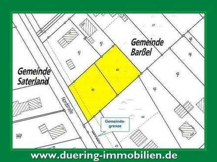 Großzügiger Bauplatz in guter Wohnlage von Barßel.