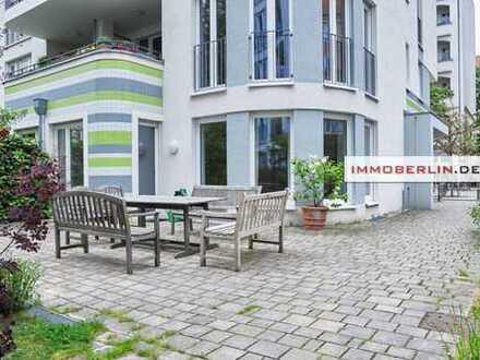 IMMOBERLIN: Schönes Flair – Frische Wohnung mit ruhiger Balkonloggia