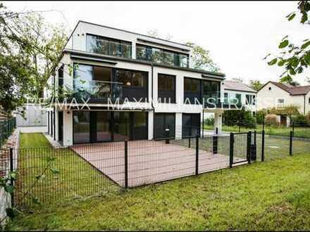 Luxuriöses NB-MFH mit 4 Wohnungen für Kapitalanleger oder Senioren-WG - behindertengerecht -