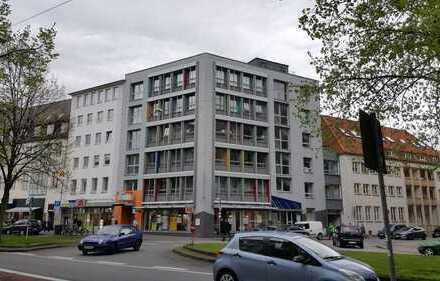 Büroetage in der Bielefelder City