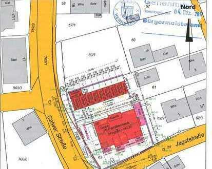 Neubau: Barrierefreie 3,5 Zi. EG Wohnung mit Garten in Oberjesingen